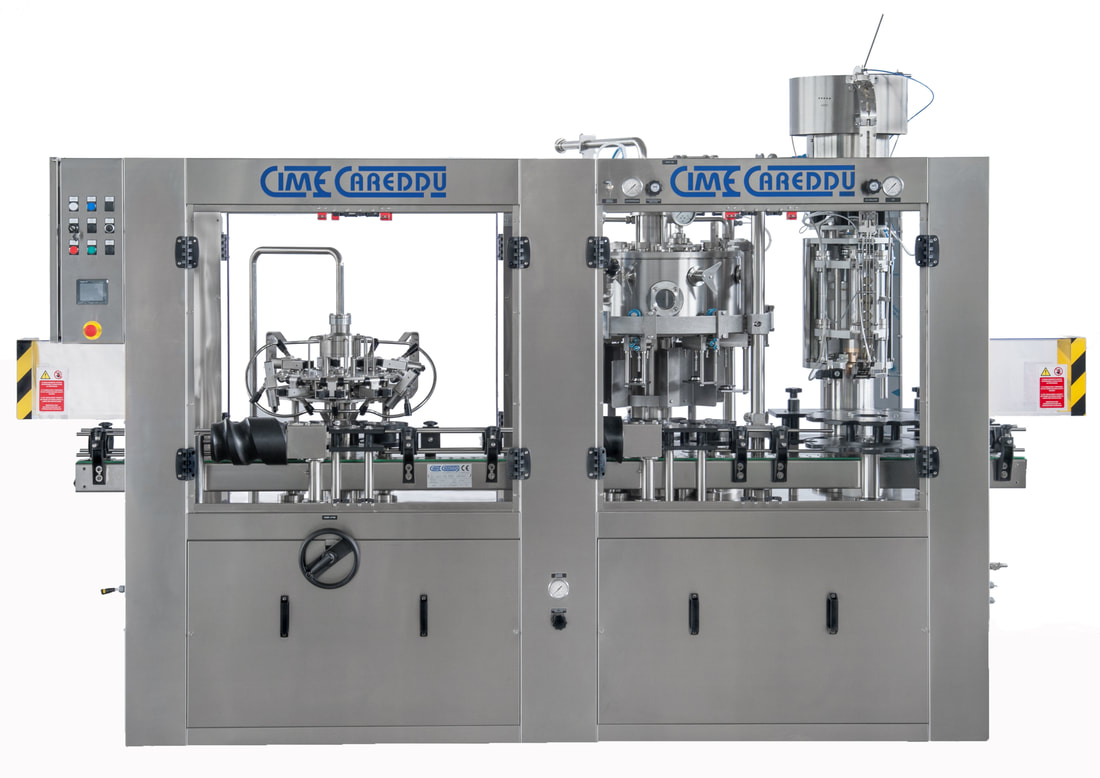 CIME Rotary counter pressure filler